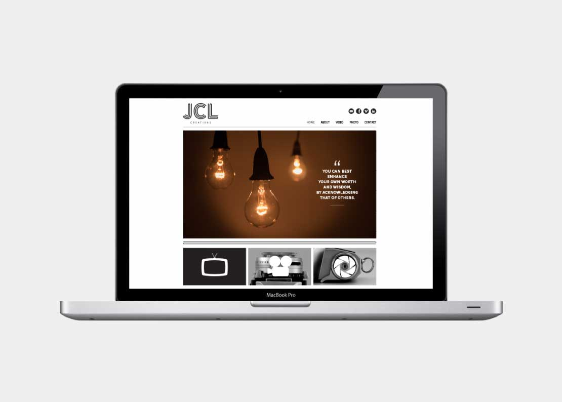 JCL Creations Business Identity Design